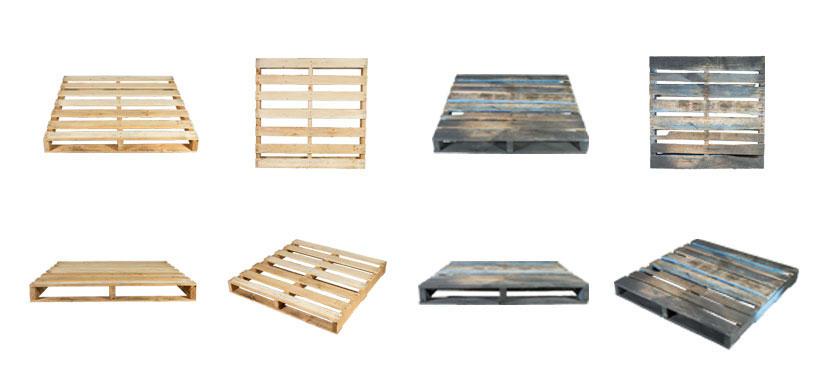 new vs secondhand pallets