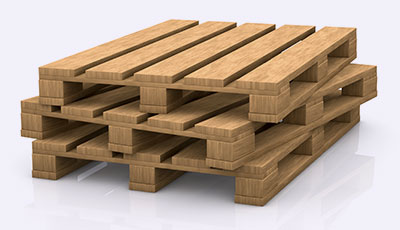 Plastic or Wood Pallets Plain Pallets